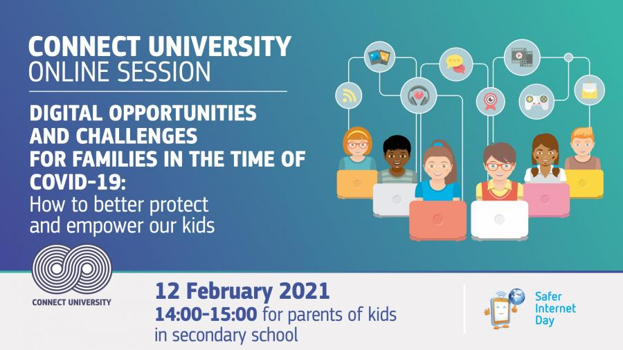 CU session for children in secondary school. February 12, from 14:00-15:00
